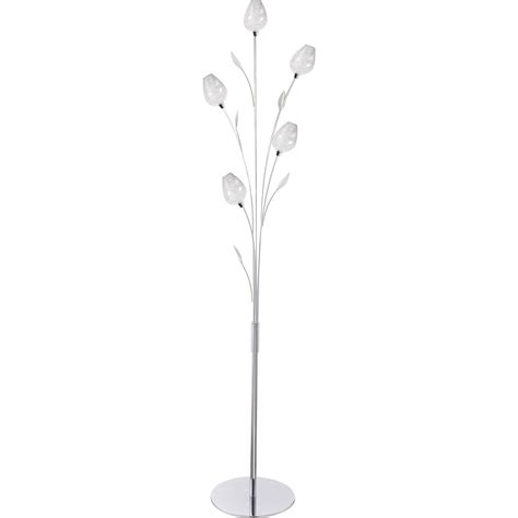 ladaire floriane 153 cm transparent 28 w leroy merlin