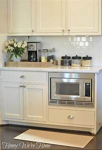 White painted kitchen cabinets transitional kitchen for What kind of paint to use on kitchen cabinets for life is beautiful wall art