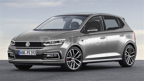 volkswagen polo 2017 vw polo speculatively rendered