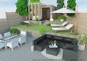 Aménagement Extérieur Maison : brise vue bois am nagement exterieur avignon terrasses ~ Farleysfitness.com Idées de Décoration