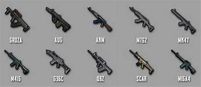 Pubg Weapons Assault Mobile Rifles Season Week