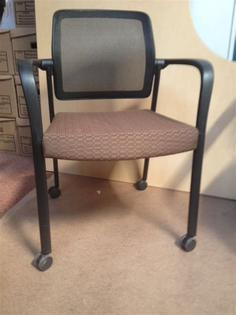 allsteel relate mobile guest chair office furniture