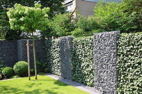 Gartengestaltung Mit Gabionen Moderne Gartengestaltung