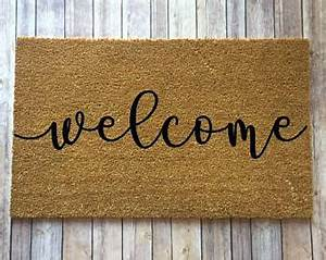 Welcome mat | Etsy