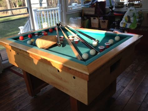 bumper pool table for sale slate bumper pool table massachusetts mansfield games