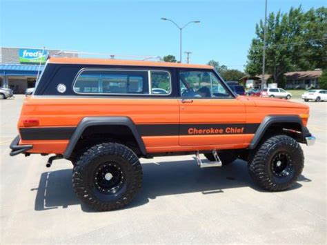 jeep chief 1979 buy used 1979 jeep cherokee chief in lindale texas