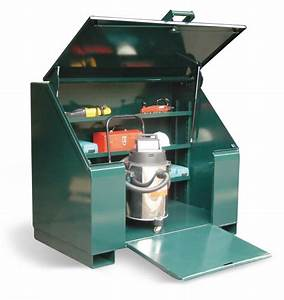 Lift-Up Job Box with Ramp - 12 Gauge all welded heavy duty ...