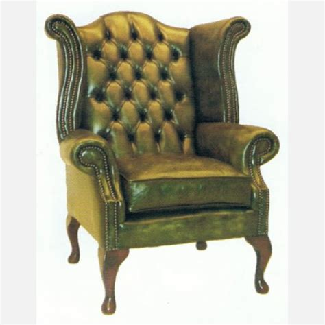 lackierte möbel restaurieren chesterfield sessel wing chair
