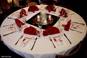 black white and red table decorations - Decorating Of Party
