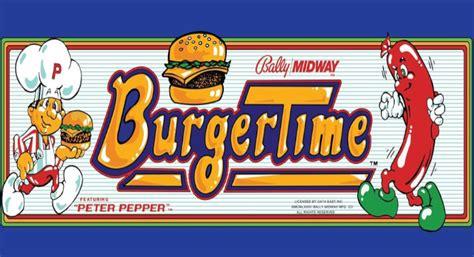 Arcade Hall Of Fame Burger Time Retro Refurbs