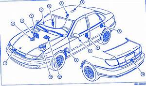 Saturn Lw-200 2001 Electrical Circuit Wiring Diagram