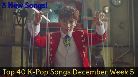 Top 40 K-pop Songs December 2015 [week 5]