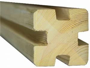 Holzpfosten Mit Nut : x nutpfosten premium 9x9cm vorgetrocknetes holz f r sichtschutz ~ Yasmunasinghe.com Haus und Dekorationen