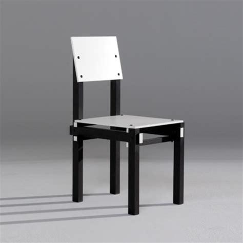 la chaise de rietveld la chaise et bleue par gerrit rietveld quand une
