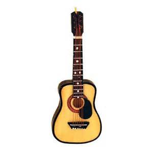 wooden steel string guitar ornament music christmas ornaments bronners categories