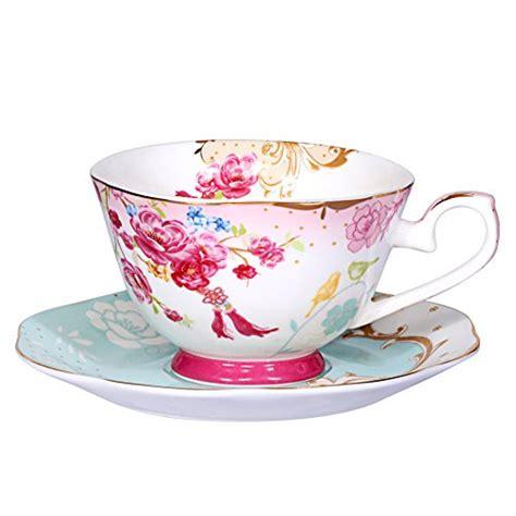 classic coffee and tea set blue awhome vintage royal style bone china teacup and saucer