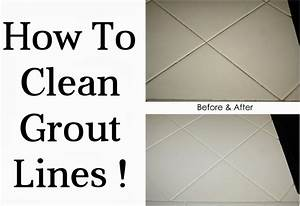 How to clean grout lines diy craft projects for How to clean tile floor grout lines