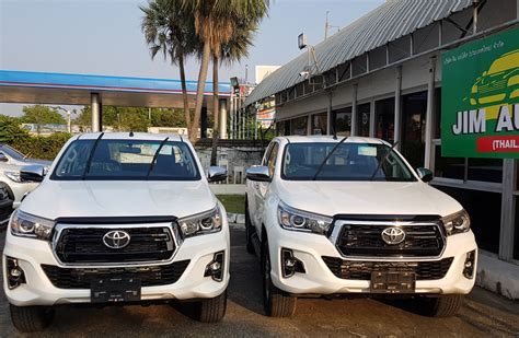 2019 Toyota Hilux Facelift by 2018 Toyota Hilux Revo Thailand Minor Change 2019