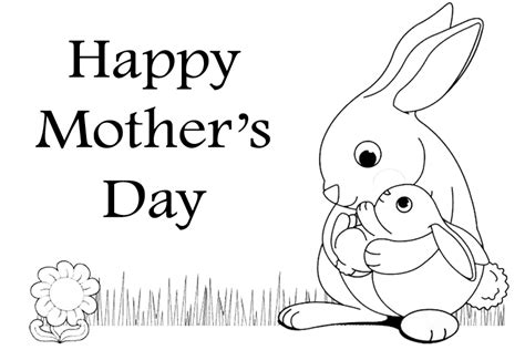 happy mothers day coloring pages   print