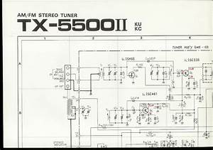 Original Factory Pioneer Tx Fm Stereo Tuner Schematic Diagram