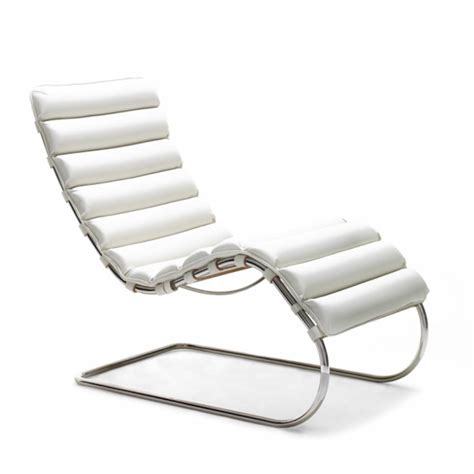 chaises knoll mies der rohe mr chaise modern furniture palette