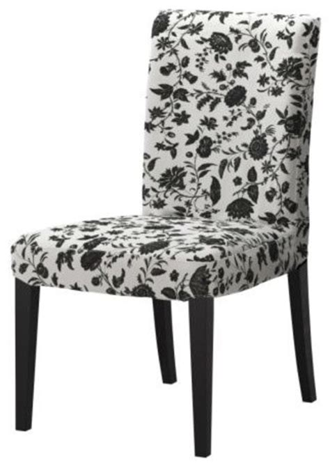 ikea dining chair covers black and white henriksdal chair transitional dining chairs by ikea
