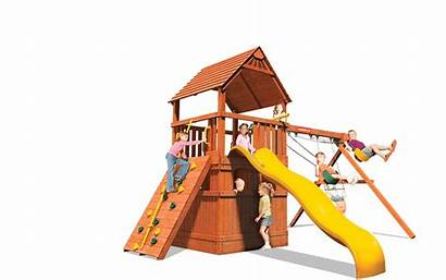 Playground Playhouse Clipart Monkey Tower Playsets Transparent