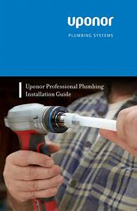 Uponor Professional Plumbing Installation Guide