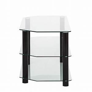 Fernseh Rack Glas : tv board glas metall schwarz lowboard unterschrank fernseh hifi rack regal neu ebay ~ Whattoseeinmadrid.com Haus und Dekorationen