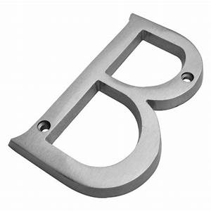 bolton hardware 4 inch solid brass satin nickel finish With 4 inch house letters