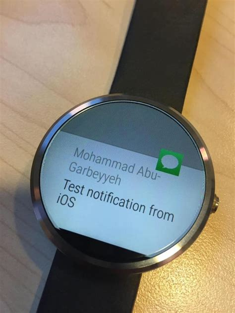 moto 360 with iphone makes moto 360 android wear compatible with iphone