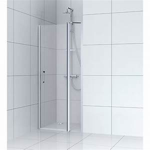 porte de douche pivotante 90 cm transparent remix With porte battante douche 90