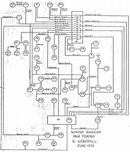 1968 Torino Wiring Diagram By E  Ueberall June 1970