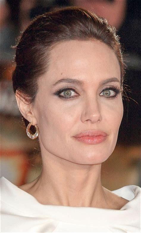 Hairstyles: Angelina Jolie ? Formal Updo Sophisticated