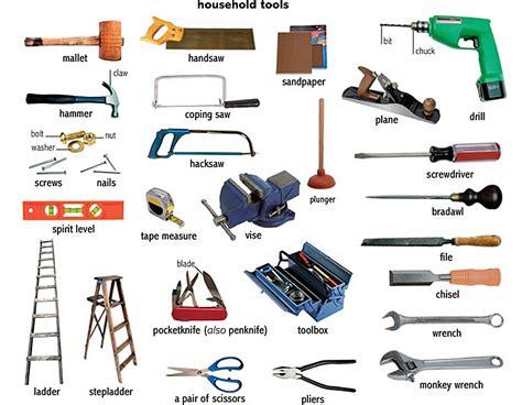Инструменты на английском языке с транскрипцией. Tools In