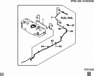 Chevrolet Aveo Fuel Line  Bolt  Clip   Pack Of 5