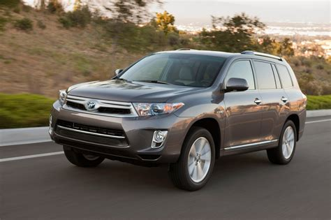 2013 Toyota Highlander Hybrid Reviews And Rating