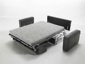 Canapé Convertible Confortable : canap lit convertible confortable 2 places meubles et ~ Melissatoandfro.com Idées de Décoration
