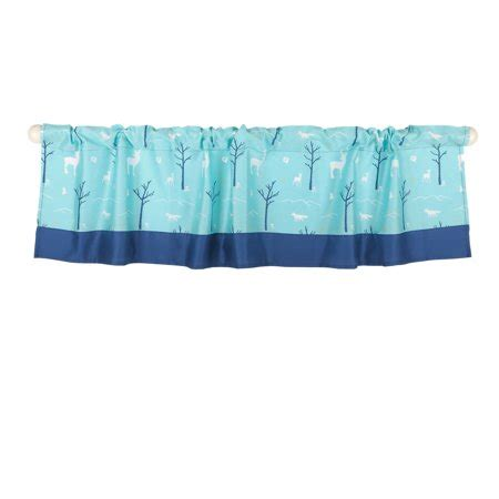 Teal Blue Window Valance by The Peanut Shell Window Valance Turquoise Teal Blue