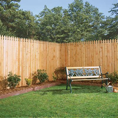 fencing fence materials supplies   home depot