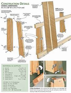 Plywood Cutting Rack • WoodArchivist