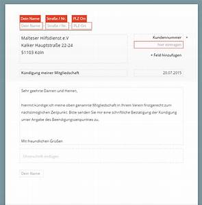 Mietvertrag Vorlage 2015 : malteser k ndigung vorlage download chip ~ Eleganceandgraceweddings.com Haus und Dekorationen