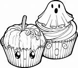 Halloween Cupcakes Clipart Lineart Coloring Muffin Muffins Line Linearts Deviantart Transparent Cupcake Pages Pumpkin Stained Glass Akili Amethyst Sparkle Equestria sketch template
