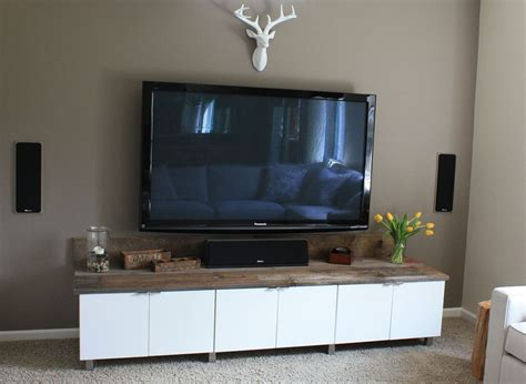 ikea wall cabinets living room diy entertainment center using ikea cabinets home