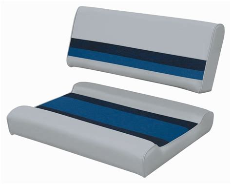 Boat Captain Chair Cushions by Wise Deluxe Pontoon Boat Flip Flip Seat Wd125