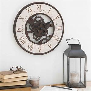 les 71 meilleures images du tableau horloges sur pinterest With meuble entree maison du monde 7 decoration murale design decoration pier import