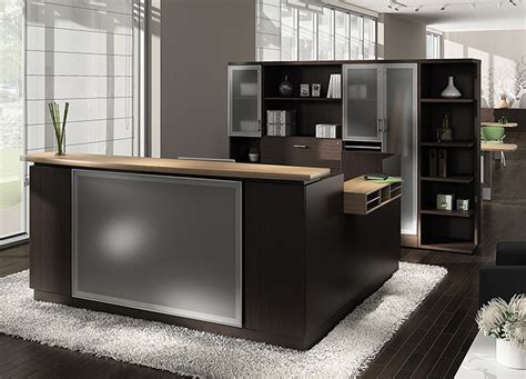 reception desk modern office global office furniture modern reception desk