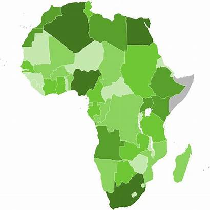 Africa Map Svg Gdp Nominal 2007 Silhouette
