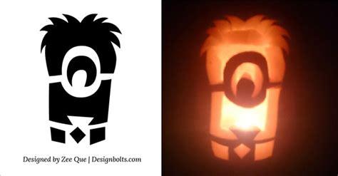 minion pumpkin carving stencils patterns