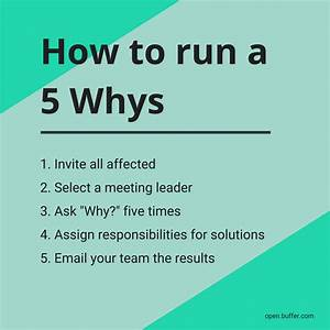 What Is A 5 Whys  Step